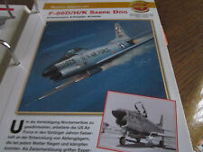 Faszination 4 150 North American F 86D/H/K Sabre Dog USA