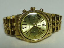 Blowout! Michael Kors Women's Lexington GoldTone Watch MK5556 Sale price $129.99
