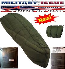 Military Issue Sleeping Bag +60F To -20F Deg Extreme Cold Weather USGI ECW NEW!