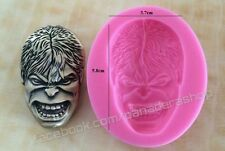 The Avengers Incredible Hulk Bento Fondant Soap Chocolate Clay Molder Mold