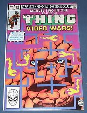 Marvel Two-In One #98  April 1983  The Thing And Video Wars  NM
