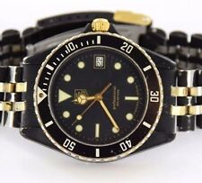 TAG Heuer Professional 200 Meters 980.029B Black/Gold Color SS Watch
