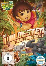 GO, DIEGO! GO! DIE WILDESTEN TIERE DER WELT   DVD NEU