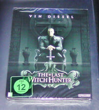 THE LAST WITCH HUNTER LIMITIERTE STEELBOOK EDITION  BLU RAY  NEU & OVP