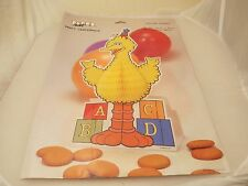 Vintage Sesame Street Big Bird centerpiece MIP 1987