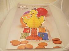 Vintage Sesame Street Big Bird centerpiece MIP 1987