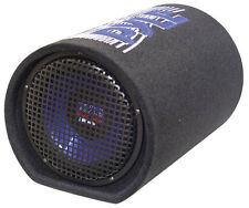New Pyle PLTB8 8'' 400 Watt Carpeted Subwoofer Tube Enclosure System Sub
