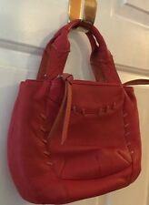 RADLEY LONDON Orange & Red Leather Shoulder Bag/Cross Body