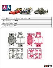 Mini 4wd MSL MS CHASSIS SET (Silver/Pink) Tamiya 95235 New Nuovo