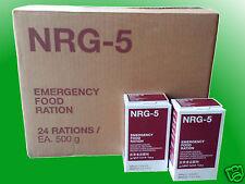 (11,24€/kg)1 Karton NRG-5 Notration, Kriesenvorsorge, Survival, Langzeitnahrung