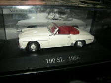 1:43 Ixo mercedes-benz 190 sl 1955 White/blanco VP