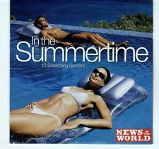 (EA323) In The Summertime, 10 tracks various artists - 2005 News of the World CD