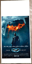 Poster LOCANDINA ORIGINALE - BATMAN THE DARK KNIGHT - Il cavaliere oscuro GRANDE