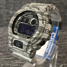 CASIO G SHOCK GD-X6900CM-8ER GREY CAMOUFLAGE EDITION DIGITAL WR 200M BRAND NEW