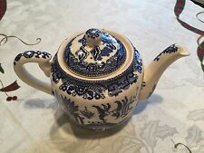VINTAGE BLUE WILLOW TEAPOT MADE IN JAPAN