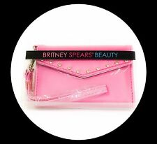 Britney Spears Beauty Lipgloss Wristlet Purse Mirror Makeup Cosmetic Gift Bag