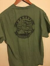 USMC Nomad Marine attack helicopter squadron Air Calvary T Shirt Sz Large Army