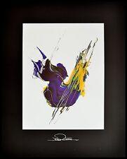 Johann Riedl Frühling Poster Kunstdruck Bild mit Alu Rahmen in schwarz 50x40cm