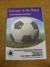 06/04/2014 newbury sunday league LAMBOURN cup final: doc house/la légion d'h