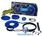 SK6641 STINGER 4 GAUGE AMP 6000 COMPLETE WIRE AMPLIFIER INSTALLATION KIT SK-6641