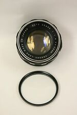 Sears 55mm f1.4 manual focus M42/screw mt. with UV filter