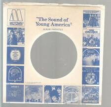 Company Sleeve 45 MOTOWN Blue w/ Picture Catalog Logo 2 on