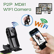 MD81 HD Mini W-lan P2P Kamera Webcam Drahtlos Sicherheit Aufnahme IP Camcorder