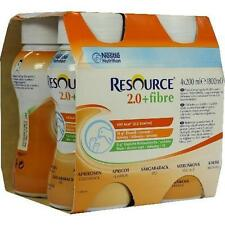 RESOURCE 2.0 fibre Aprikose 4X200 ml