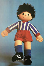 SEWING PATTERN Jean Greenhowe Football Mascot Doll Toy 53cm tall Boys RARE