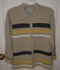 IMAGIO Striped Sweater - SZ L