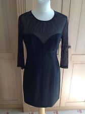 LOVELY MAX AND CLEO LITTLE BLACK DRESS UK SIZE 10 NWOT