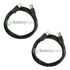 2 Pack 6ft USB2.0 A Male to B Male Printer Scanner Cable Black(U2A1-B1-06-2PK)