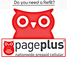 PagePlus Cellular Wireless Pay As You Go Phone Refill Card $12 FASTEST ON eBay