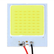 1PC Car White T10 12V 4W 48-SMD LED HID Dome Map Lamp Bulb Interior Panel Lamp