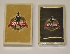 Tomb Raider 20th Anniversary Promotional Playing Cards New Sealed Limited Promo