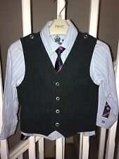 NEXT Shirt, Tie And Waistcoat