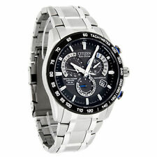 New Citizen Men's Titanium Radio Controlled Eco-Drive Watch AT4010-50E