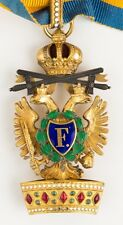 AUSTRIA, PRUSSIA, GERMANY  ORDER OF THE IRON CROWN, very rare