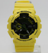New Casio G-Shock GA110NM-9A Metallic Yellow Analog & Digital Men's Watch