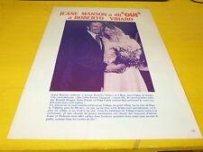 JEANE MANSON - Mini poster Noir & blanc !!!!!!!!!