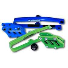 KXF 250 450 KLX CHAIN SLIDE GUIDE KIT KAWASAKI BLUE KCP-K09 TM DESIGNS 2009-2015
