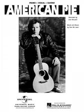 American Pie Sheet Music Piano Vocal Don McLean NEW 000120837