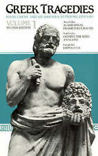Greek Tragedies: Selections: v.1 by Aeschylus, Euripides, Sophocles...