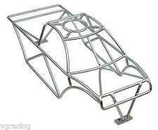 Bead Blasted Chrome Roll Cage fits Traxxas Stampede VXL 4x4 6708, 67086, 67054