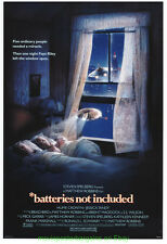 BATTERIES NOT INCLUDED MOVIE POSTER Original 27x40 DREW STRUZAN Art SPIELBERG