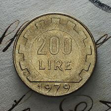 1979   Repubblica Italiana   200   lire