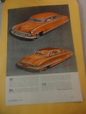 Rare 1946 Studebaker Advertisement what they might look like in 1947-48 and 1950