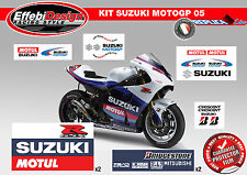 Adesivi/Stickers KIT SUZUKI MOTO GP 2005 GSX-R 600 750 1000 TOP QUALITY !