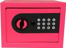 NEW DIGITAL ELECTRONIC SAFE SECURITY BOX WALL JEWELRY GUN CASH PINK