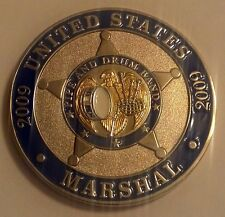 USMS United States Marshals Service 2009 Pipe And Drums Band 1.75""